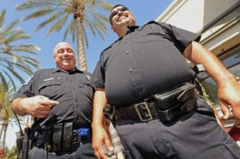The Fat Blue Line Obesity And Law Enforcement Helping You To